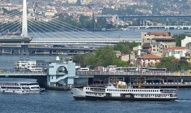 Bosphorus Bridges in Istanbul