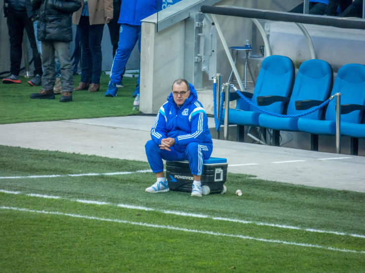Marcelo Bielsa at Olympique Marseille