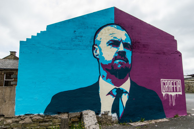 Sean Dyche Graffiti
