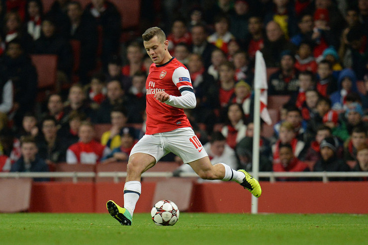 Jack Wilshere Playing For Arsenal