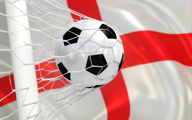England football goal