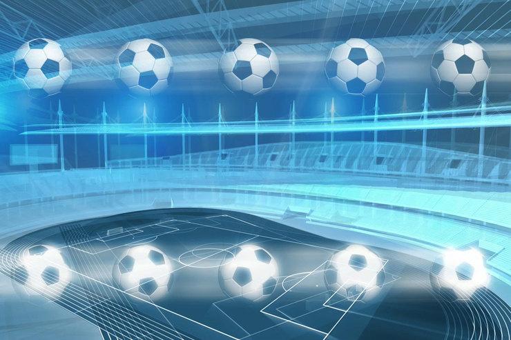 Football Stadium Graphic