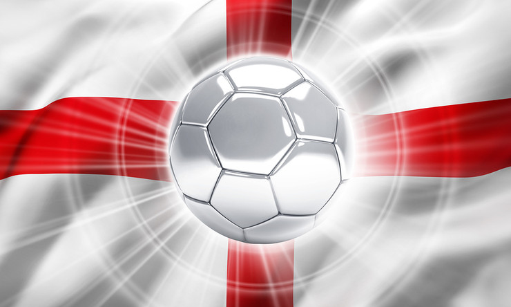 Football Illuminated Against England