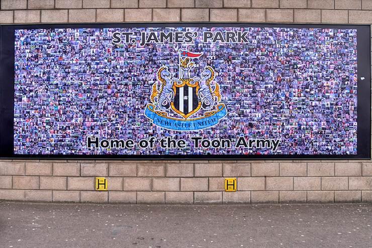 Newcastle United St James Park