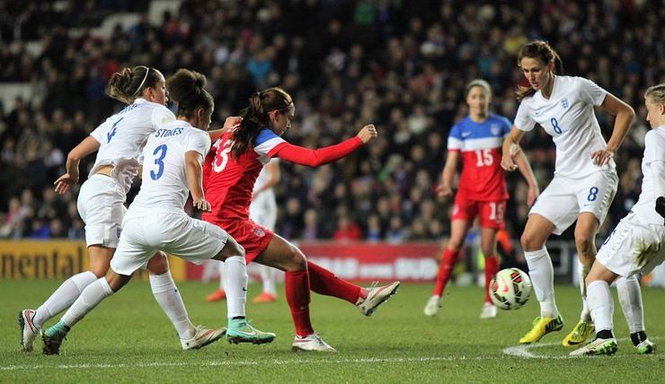 England Women vs USA Women