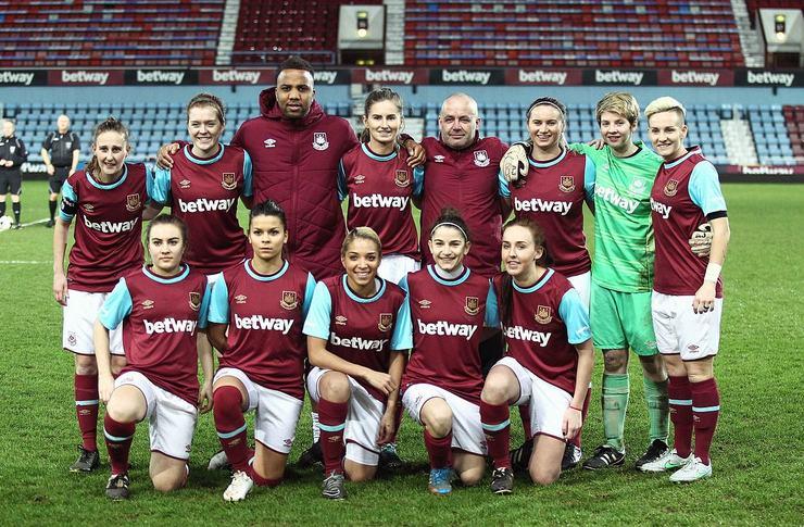 West Ham Ladies Squad