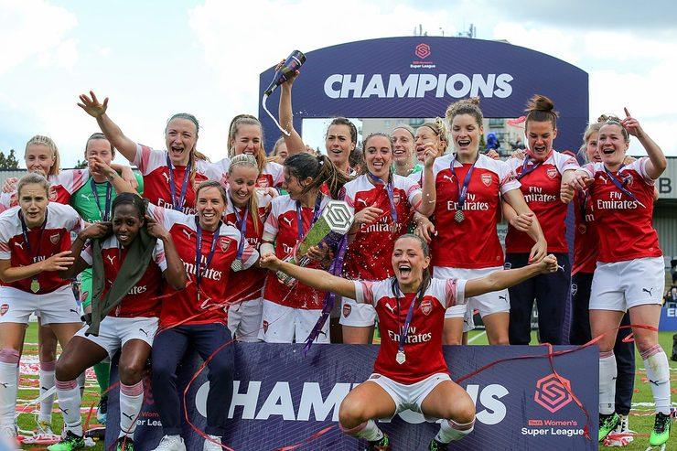 Arsenal Win Womens Super League