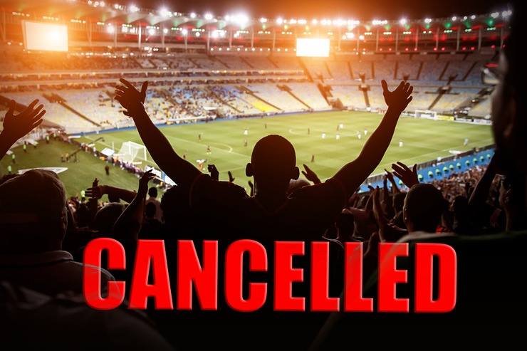 Cancelled Football Match