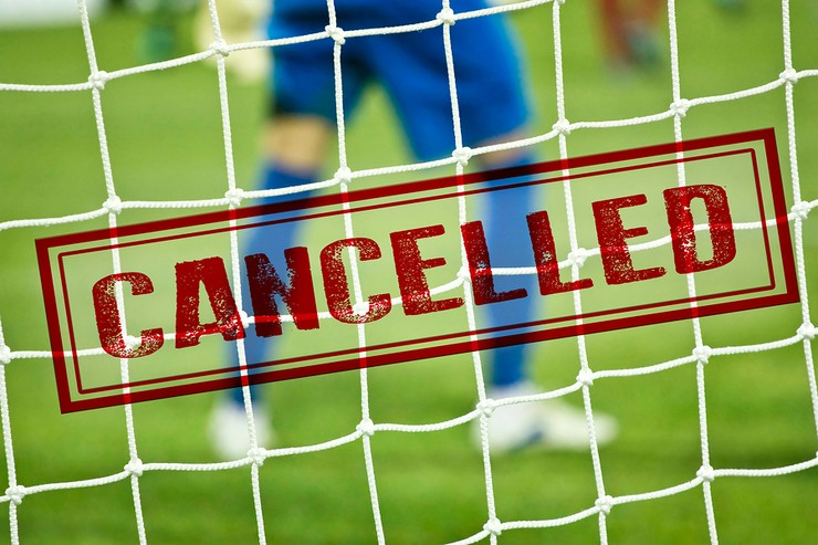 Cancelled Football Match