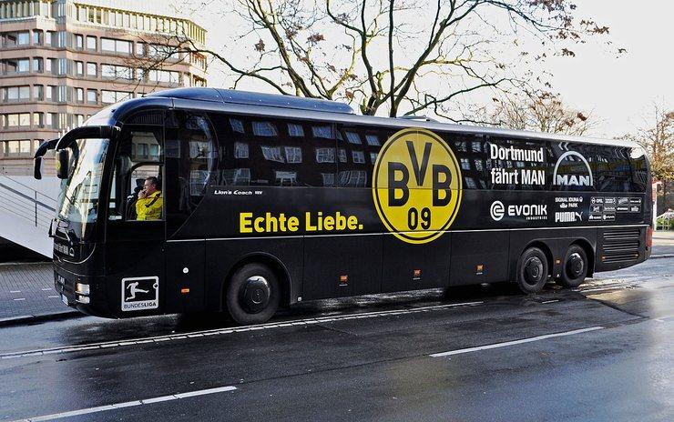 Dortmund Team Bus