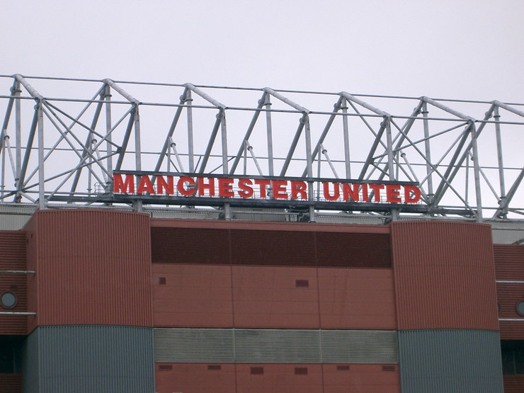 Manchester United Old Trafford Sign